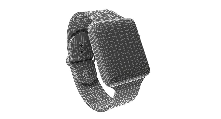 Apple Watch 2 royalty-free 3d model - Preview no. 8