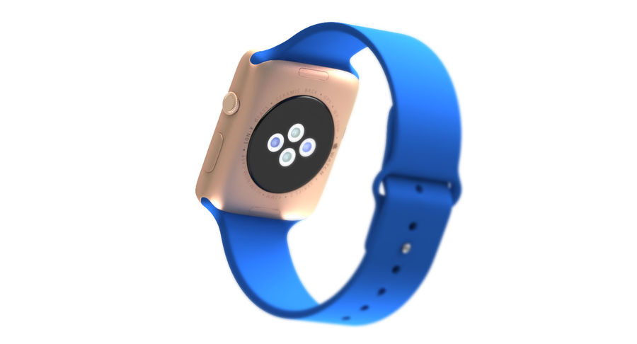 Apple Watch 2 royalty-free 3d model - Preview no. 9