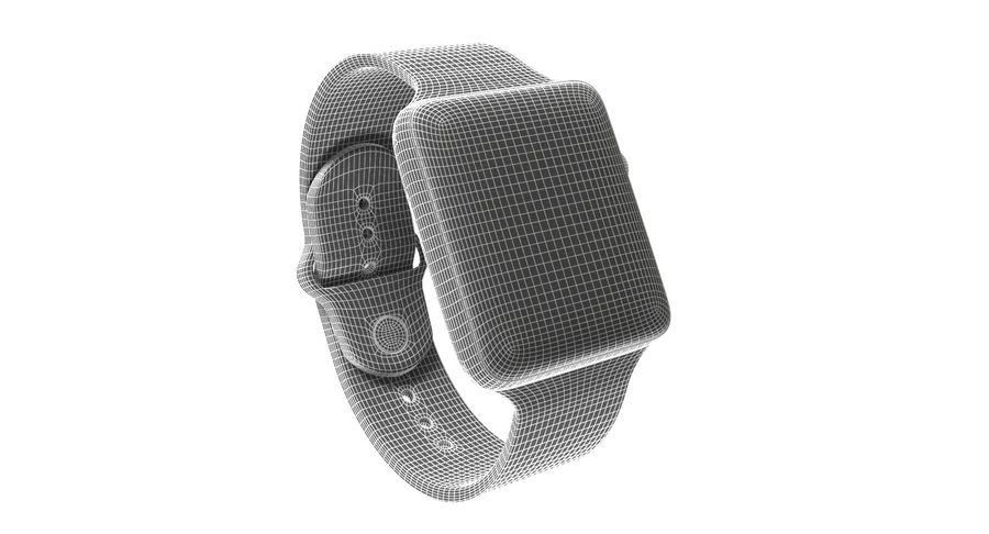 Apple Watch 2 royalty-free 3d model - Preview no. 7