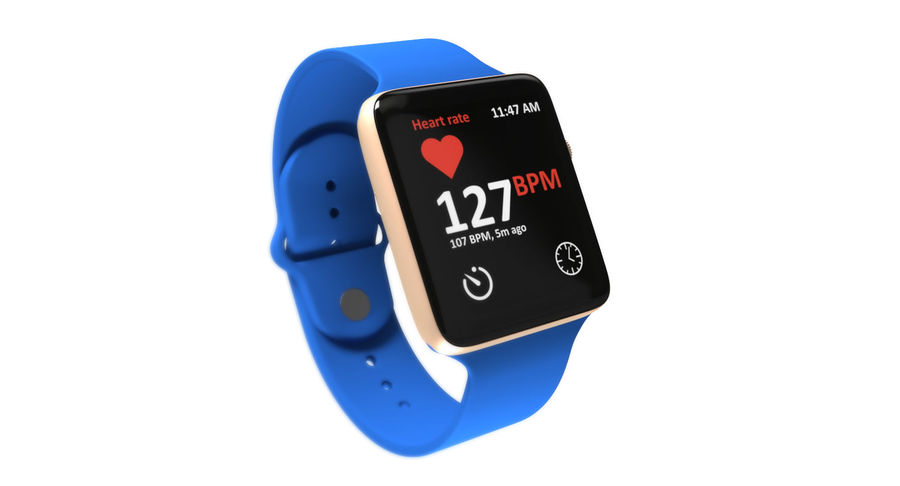Apple Watch 2 royalty-free 3d model - Preview no. 6