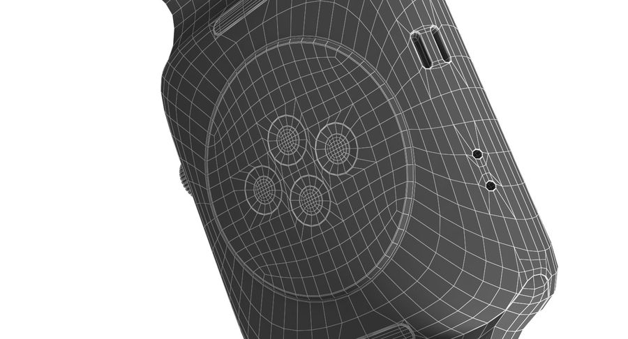 Apple Watch 2 royalty-free 3d model - Preview no. 17