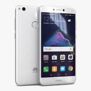 Huawei P8 Lite 2017 Wit 3d model