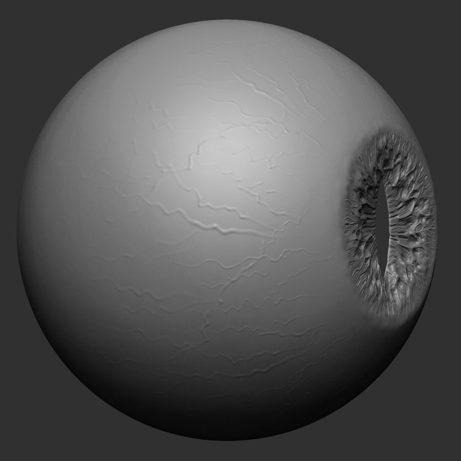Animal (Monster) Eye royalty-free 3d model - Preview no. 4
