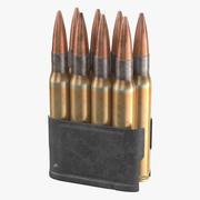 Garand Ammo Clip - Вторая мировая война 3d model