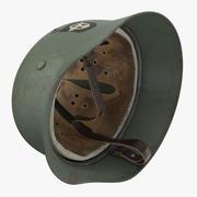 독일 Wehrmacht 헬멧-차 세계 대전-뒤집힌 3d model