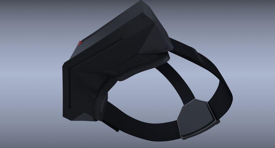 StarVR Sanal Gerçeklik gözlükleri royalty-free 3d model - Preview no. 10