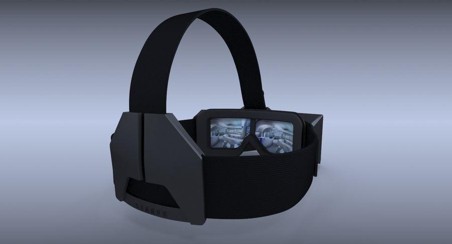 StarVR Sanal Gerçeklik gözlükleri royalty-free 3d model - Preview no. 8