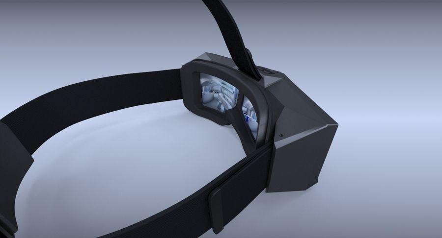 StarVR Sanal Gerçeklik gözlükleri royalty-free 3d model - Preview no. 9