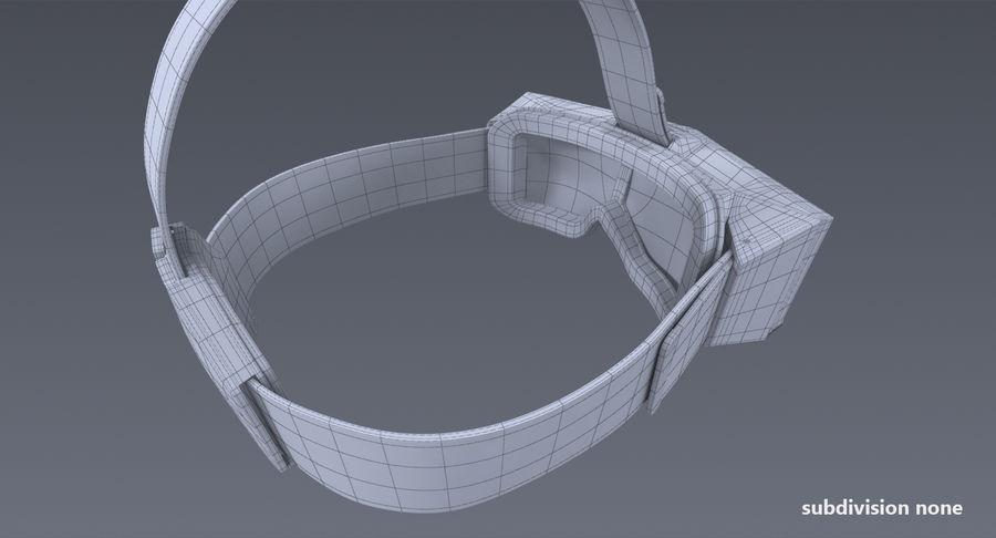 StarVR Sanal Gerçeklik gözlükleri royalty-free 3d model - Preview no. 14