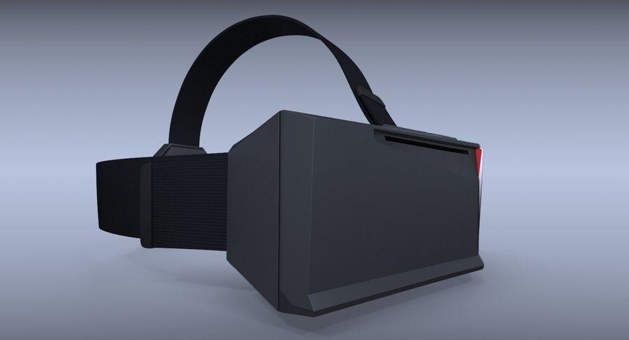 StarVR Sanal Gerçeklik gözlükleri royalty-free 3d model - Preview no. 6