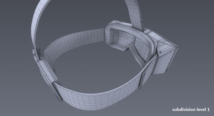 StarVR Sanal Gerçeklik gözlükleri royalty-free 3d model - Preview no. 15