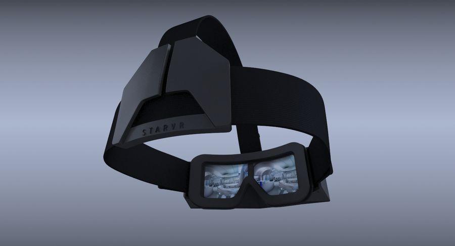 StarVR Sanal Gerçeklik gözlükleri royalty-free 3d model - Preview no. 11