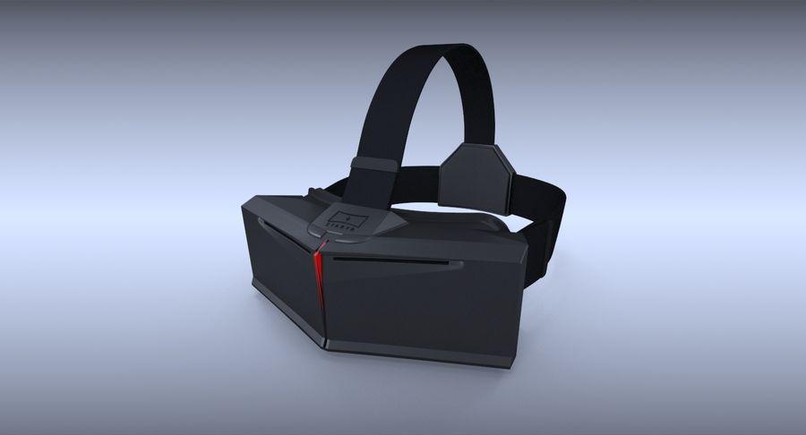 StarVR Sanal Gerçeklik gözlükleri royalty-free 3d model - Preview no. 5