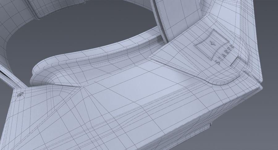 StarVR Sanal Gerçeklik gözlükleri royalty-free 3d model - Preview no. 13