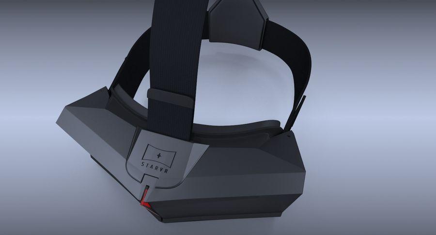 StarVR Sanal Gerçeklik gözlükleri royalty-free 3d model - Preview no. 7