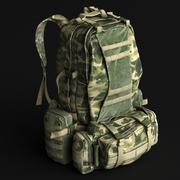 背包 3d model