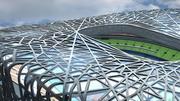 Stade national de Pékin 3d model