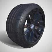 PBR - Michelin Pilot Super Sport - (Game ready) LOD 0 3d model