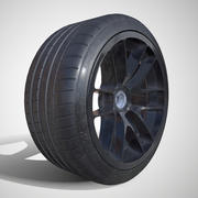 PBR - Michelin Pilot Super Sport - (Game ready) LOD 1 3d model
