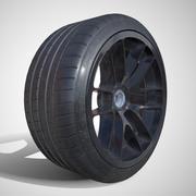 PBR - Michelin Pilot Super Sport - (Game ready) LOD 1 3d model