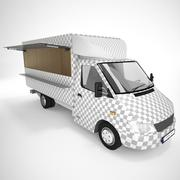 Mercedes Sprinter Foodtruck 3d model