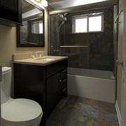 Bathroom-001 3d model