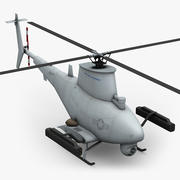 Northrop Grumman MQ-8B Fire Scout 3d model