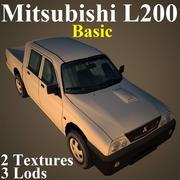 L200基本 3d model