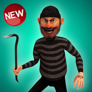 Karikatür hırsız 3d model
