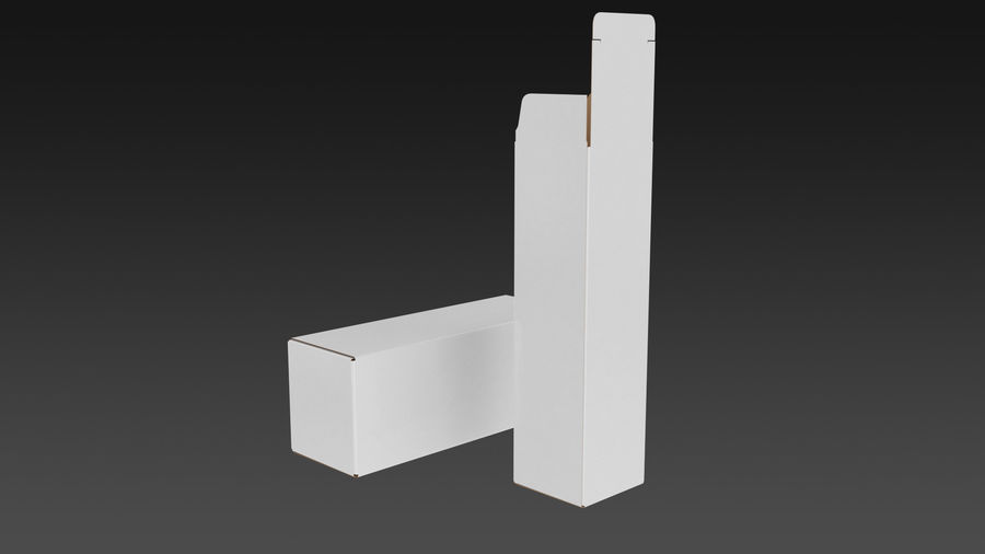 Product Box royalty-free 3d model - Preview no. 3
