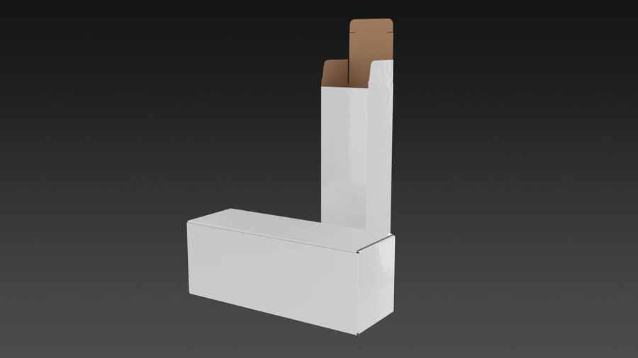 Product Box royalty-free 3d model - Preview no. 2