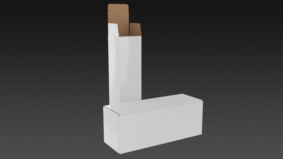 Product Box royalty-free 3d model - Preview no. 1