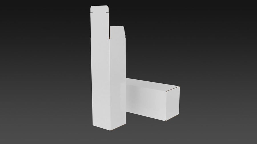 Product Box royalty-free 3d model - Preview no. 4