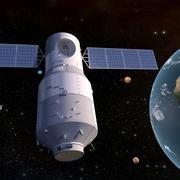 Спутник 01 3d model