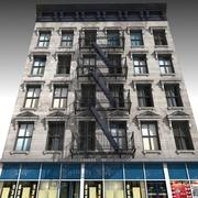 Nyc Building 02 3d model