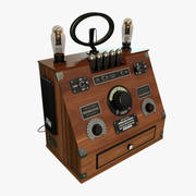 Rádio Espírito de St. Louis 3d model