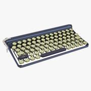Clavier antique 3d model