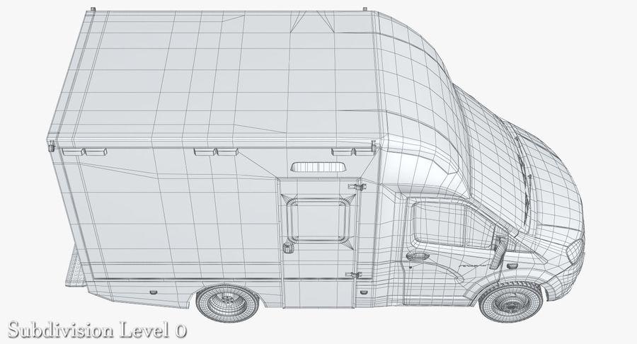 Ambulance Gazzele royalty-free 3d model - Preview no. 18