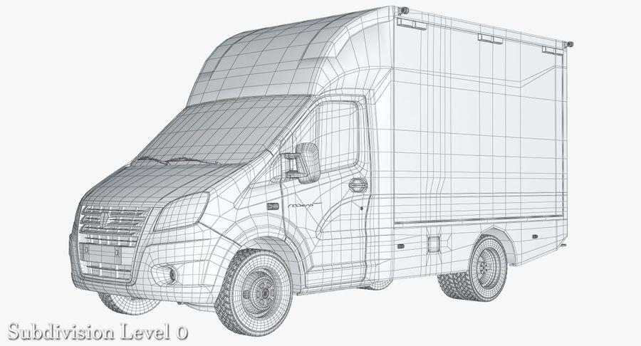 Ambulance Gazzele royalty-free 3d model - Preview no. 12
