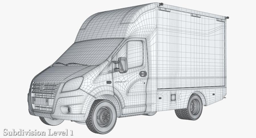 Ambulance Gazzele royalty-free 3d model - Preview no. 13