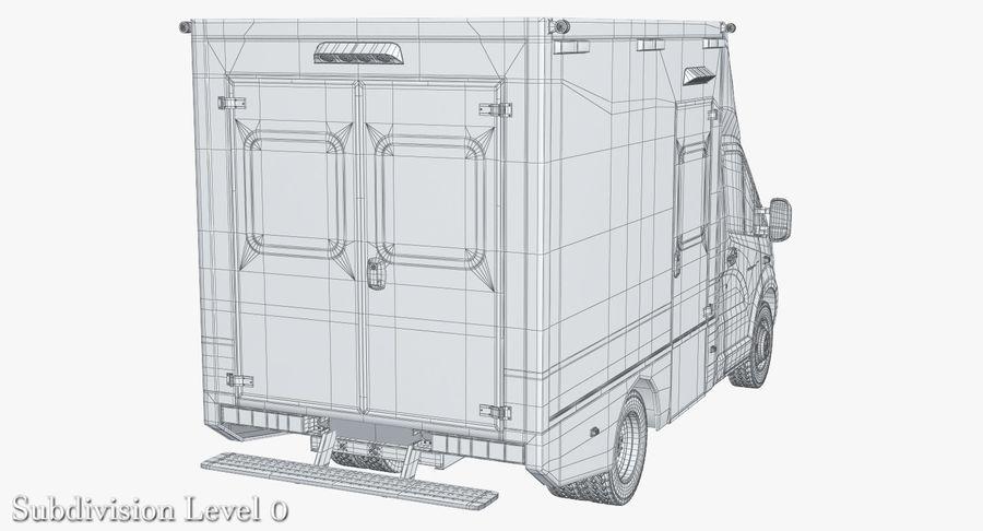 Ambulance Gazzele royalty-free 3d model - Preview no. 16