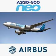 Airbus A330 Neo 3d model