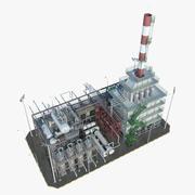精炼区3 3d model
