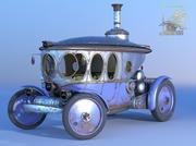 Automobile Steampunk 3d model