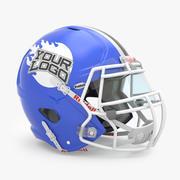 橄榄球头盔Riddell Revolution Edge 3d model