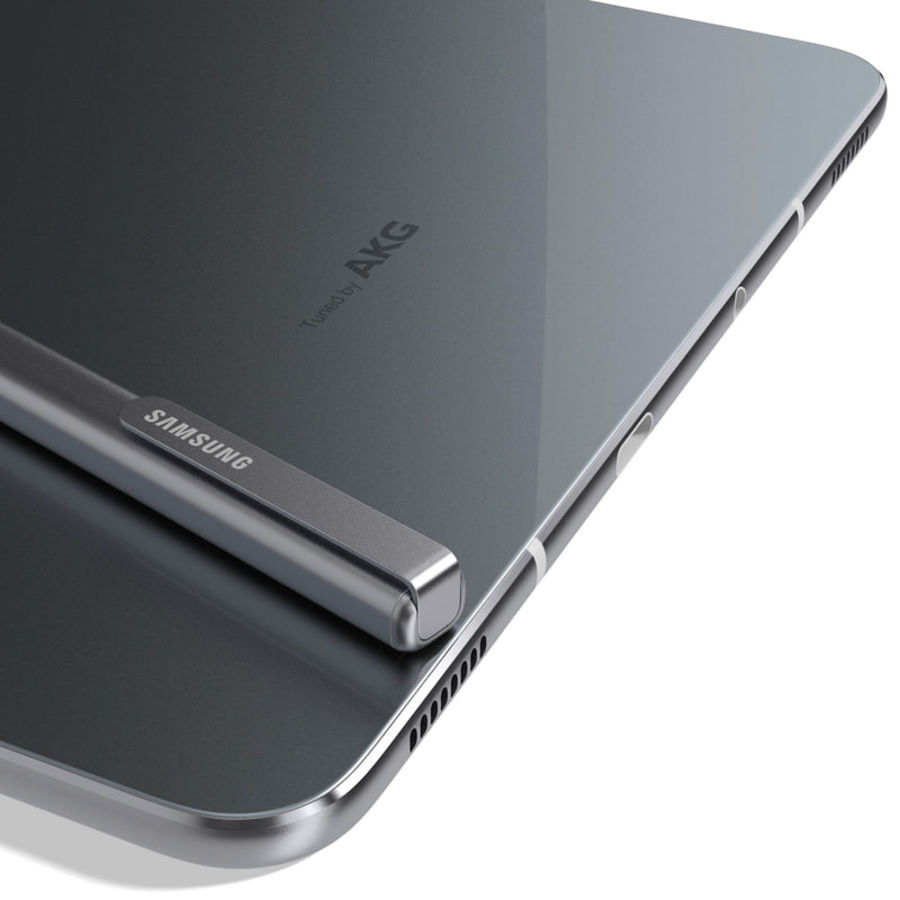 Samsung Galaxy Tab S3 S Pen & Keyboard ile Tüm Renkler (Arma) royalty-free 3d model - Preview no. 41