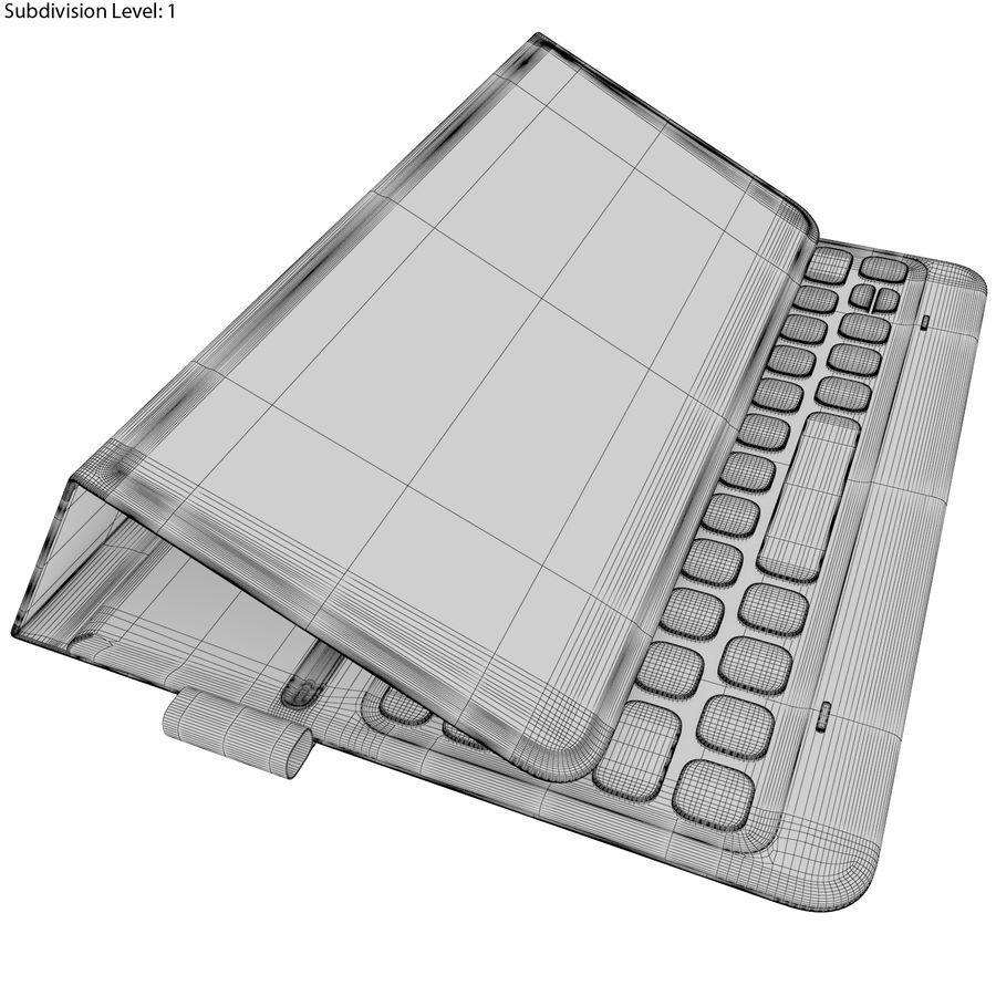Samsung Galaxy Tab S3 S Pen & Keyboard ile Tüm Renkler (Arma) royalty-free 3d model - Preview no. 61