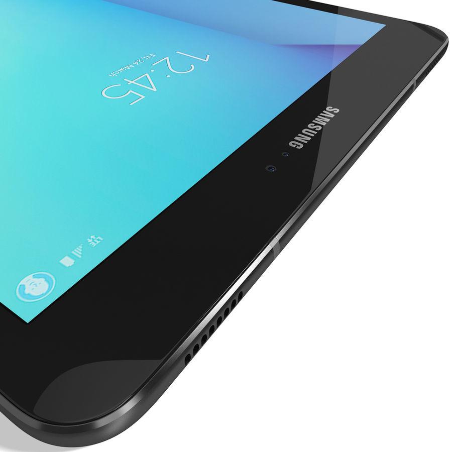 Samsung Galaxy Tab S3 S Pen & Keyboard ile Tüm Renkler (Arma) royalty-free 3d model - Preview no. 28