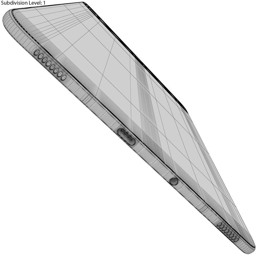 Samsung Galaxy Tab S3 S Pen & Keyboard ile Tüm Renkler (Arma) royalty-free 3d model - Preview no. 53