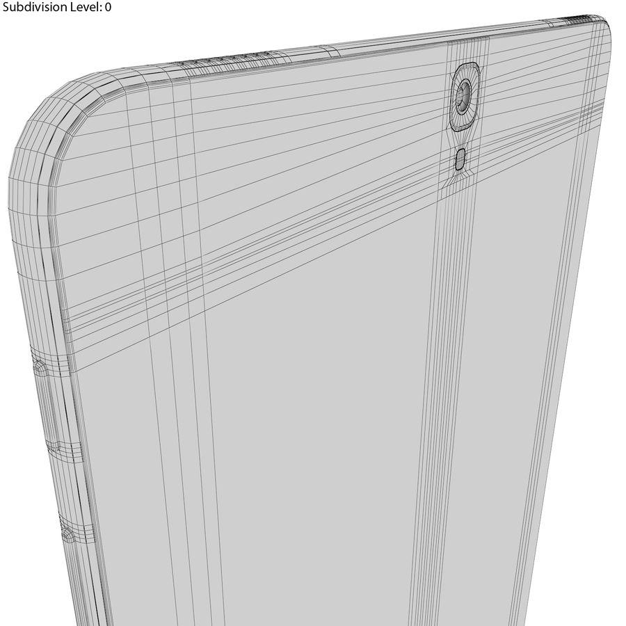 Samsung Galaxy Tab S3 S Pen & Keyboard ile Tüm Renkler (Arma) royalty-free 3d model - Preview no. 48